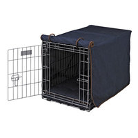 Bowsers Lux Crate Cover Denim, Large