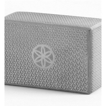 GAIAM Flower of Life Embossed Yoga Block