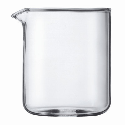 BODUM Shatterproof Plastic 4 Cup Replacement Beaker, 17oz