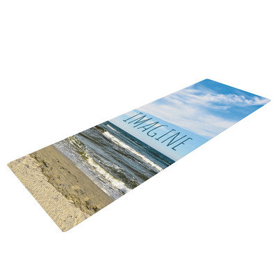 Kess Inhouse Imagine by Iris Lehnhardt Beach Sky Yoga Mat