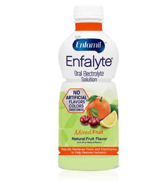 Enfamil™ Enfalyte® Oral Electrolyte Solution, for Oral Rehydration, Ready To Use, Mixed Fruit Bottle