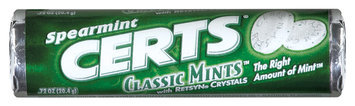 Certs Spearmint Classic Mints