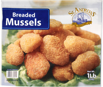 St. Andrews Delicacies® Breaded Mussels 1 lb. Bag