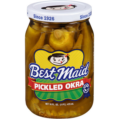 Best Maid® Pickled Okra 16 fl. oz. Jar
