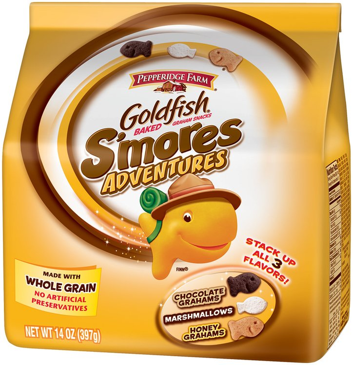 Goldfish® S'mores Adventures Baked Snack Crackers 14 oz. Bag