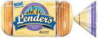 Lender's Frozen Original Cinnamon Swirl 6 Ct Bagels 12 Oz Bag