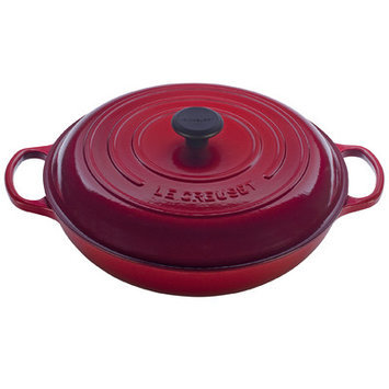 Le Creuset 5-qt. Signature Enamel Cast Iron Braiser, Cherry