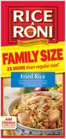 RICE-A-RONI Fried Rice Family Size Rice Mix 12.4 Oz Box