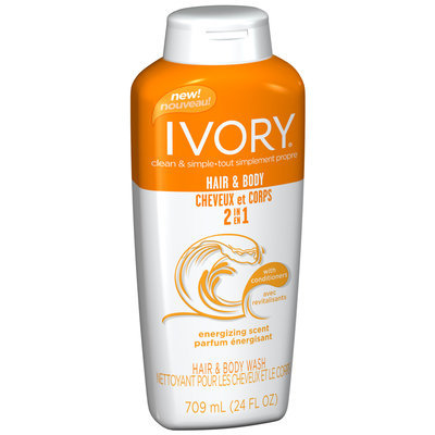 Ivory Energizing 2-in-1 Hair & Body Wash