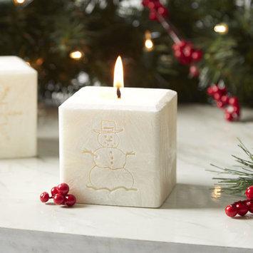 Birch Lane Snowman Candle