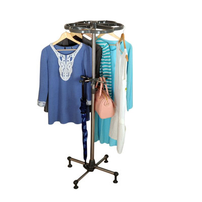 Above Edge Clothes and Storage Rack