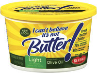 I Can't Believe It's Not Butter! Light W/Olive Oil Spread 15 Oz Plastic Tub