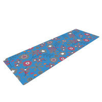 Kess Inhouse Meadow by Michelle Drew Paisley Yoga Mat