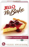 Jell-O No Bake Cherry Cheesecake Dessert Mix 21.4 Oz Box