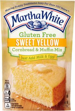 Martha White® Gluten Free Sweet Yellow Cornbread & Muffin Mix 7 oz. Pouch
