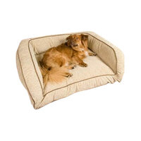 O'donnell Industries Snoozer Pet Products SN-75273 Contemporary Pet Sofa - Large-Dark Chocolate-Buckskin