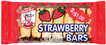 Daddy Ray's 2/$1.00 Strawberry Fig Bars 4 Oz Tray