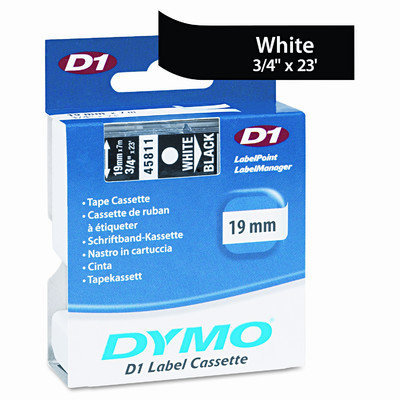 DYMO D1 Standard Tape Cartridge for Dymo Label Makers