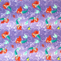 Stwd Little Mermaid Fitted Bassinet Sheet