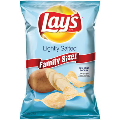 Lay's® Lightly Salted Potato Chips