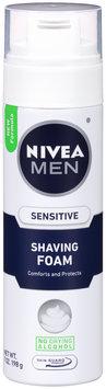 NIVEA MEN® Sensitive Shaving Foam 7 oz. Aerosol Can
