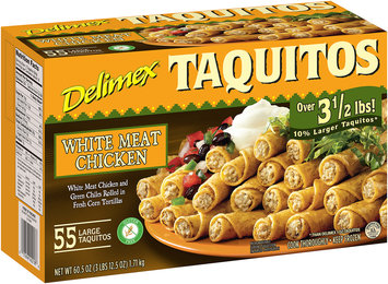 Delimex® White Meat Chicken Taquitos 55 ct Box
