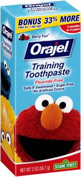 Orajel™ Berry Fun™ Training Toothpaste 2 oz. Box