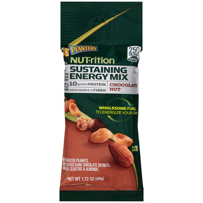 Planters NUT-trition Chocolate Nut Sustaining Energy Mix 1.72 oz. Pack