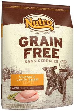 Nutro™ Natural Choice™ Grain Free Chicken & Lentils Recipe Dog Food 24 lb. Bag