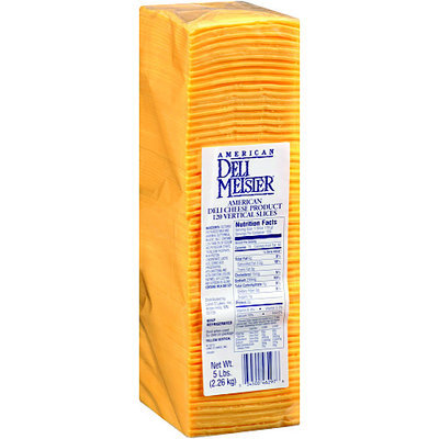 Deli Meister® American Deli Cheese Product 5 lb. Pack