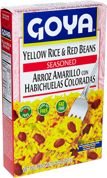Goya Yellow Rice and Red Beans