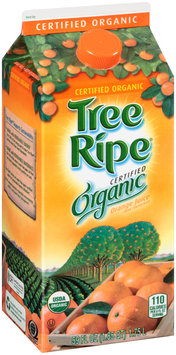 Tree Ripe® Certified Organic Orange Juice 59 fl. oz. Carton