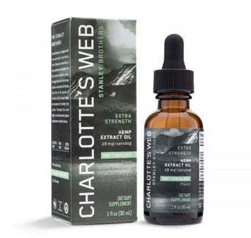 CHARLOTTE'S WEB Everyday Plus Pure Hemp Extract Oil Mint Chocolate
