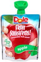 Dole Fruit Squish'ems! Apple Squeezable Fruit Pouch
