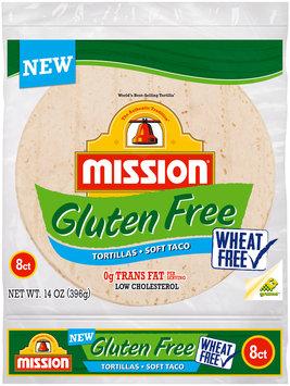 Mission® Gluten Free Soft Taco Tortillas 8 ct Bag