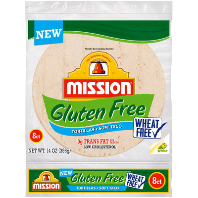 Mission® Gluten Free Soft Taco Tortillas 8 ct Bag