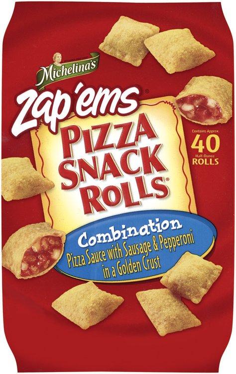 Michelina's Snack Rolls Combination Pizza Snack Rolls 20 Oz Bag