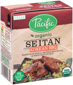 Pacific Organic Seitan - Korean BBQ
