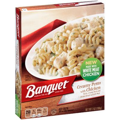 Banquet® Creamy Pesto with Chicken 7 oz. Box
