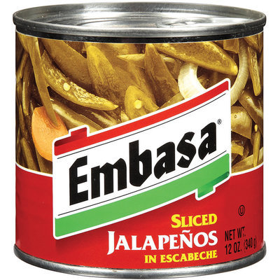 Embasa® Sliced Jalapenos in Escabeche 12 oz. Can
