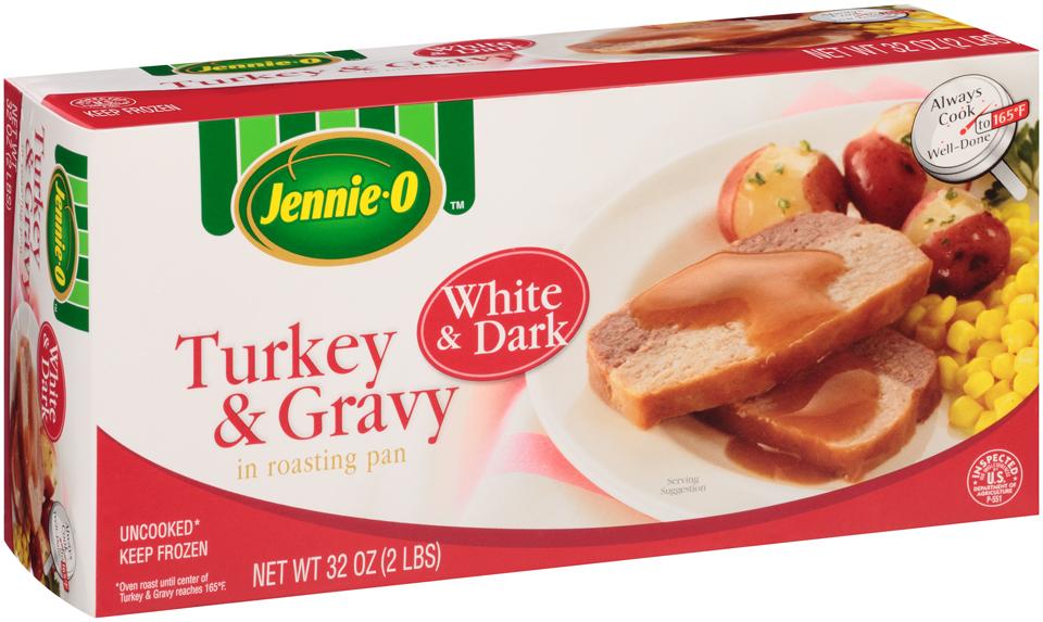 Jennie-O® White & Dark Turkey & Gravy in Roasting Pan 32 oz. Box