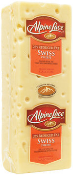 Alpine Lace® Swiss Reduced Fat Deli Cheese 13.58 Lb Loaf
