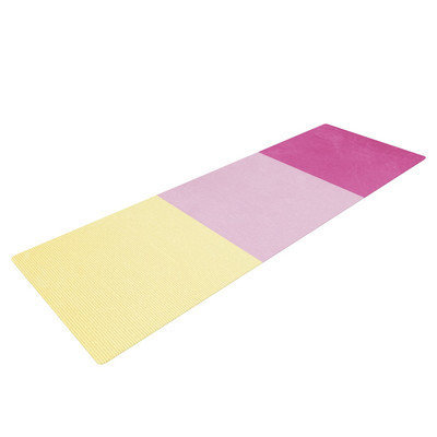 Kess Inhouse Color Block by Catherine McDonald Yoga Mat