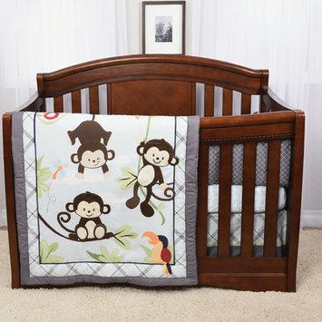 Baby's First Hangin' Around 4 Piece Crib Bumper Set