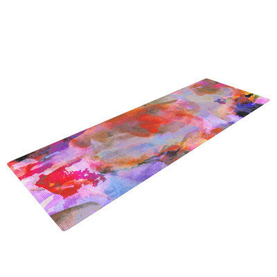 Kess Inhouse Painterly Blush by Nikki Strange Yoga Mat