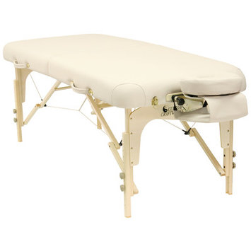 Best Massage Ergonomic Contours, Rounded Corners Custom Craftworks Heritage Table - Cream