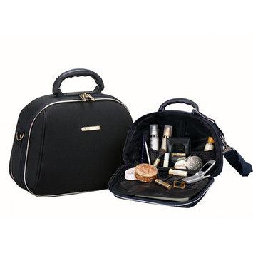 Fox Luggage Rockland Luggage 2 Piece Cosmetic Case Set - Black