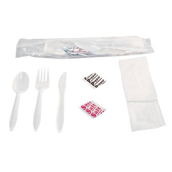 General Paper Wrapped Cutlery Kit