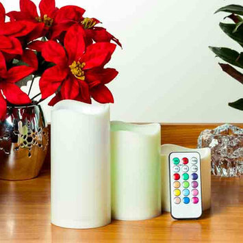 Imperial Home 4 Piece Pillar Candle Set