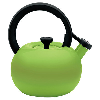 Circulon 2-Quart Circles Teakettle, Kiwi Green